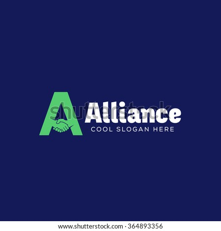 alliance abstract vector logo