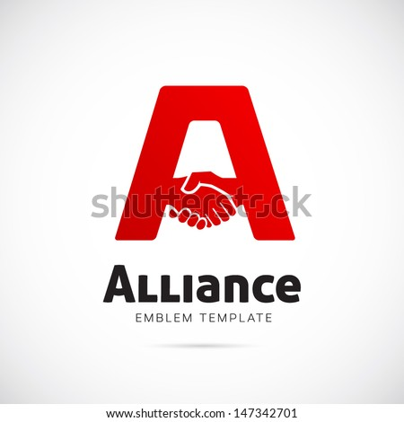 alliance symbol icon or logo