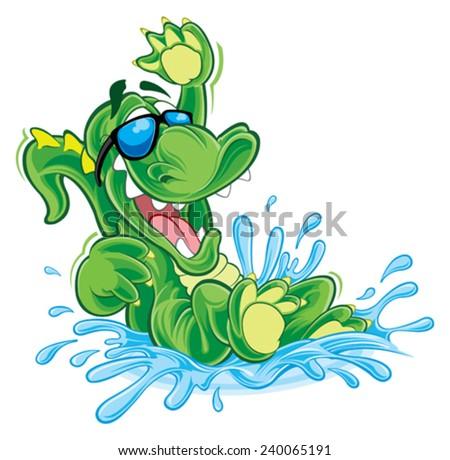 Stock Photo Alligator