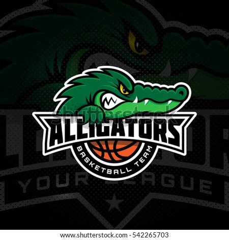 alligator mascot for a