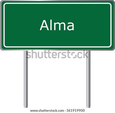 alma   colorado   road sign