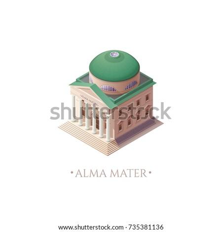 alma mater university building