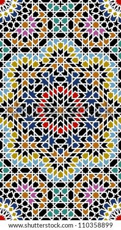 almas stroke moorish pattern
