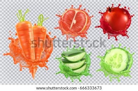 aloe juice  carrots  grapefruit