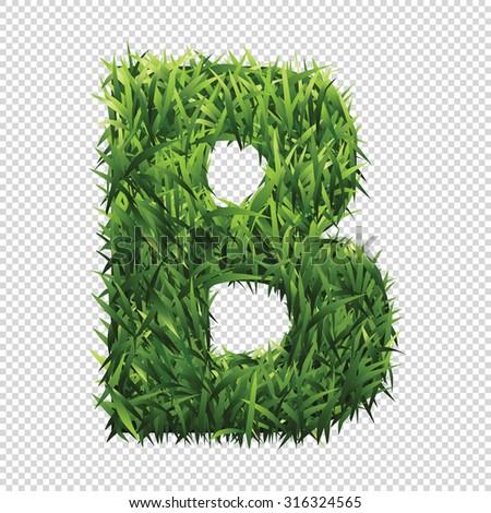 stock-vector-alphabet-b-of-green-grass-a-lawn-alphabet-with-gradient-light-green-to-dark-green