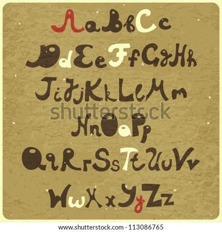 Doodle Designs Alphabet Design in Doodle