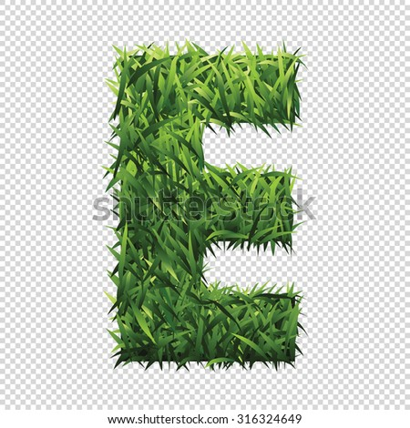 stock-vector-alphabet-e-of-green-grass-a-lawn-alphabet-with-gradient-light-green-to-dark-green