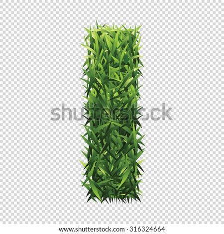 stock-vector-alphabet-i-of-green-grass-a-lawn-alphabet-with-gradient-light-green-to-dark-green