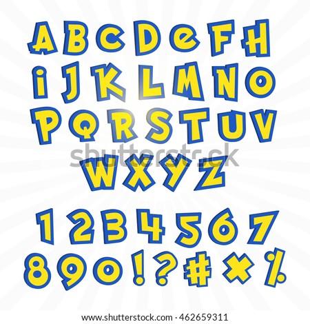 alphabet in pokemon go cartoon