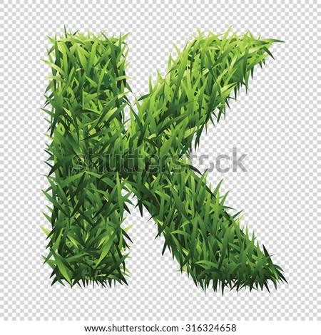 stock-vector-alphabet-k-of-green-grass-a-lawn-alphabet-with-gradient-light-green-to-dark-green