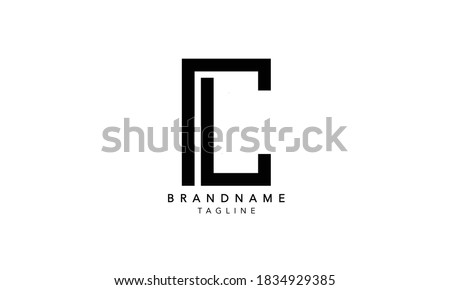 Alphabet letter Initial Monogram Logo LC,LC INITIAL, LC letter , L and C Stock fotó ©