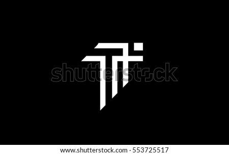 Alphabet letter T vector logo icon sign design template