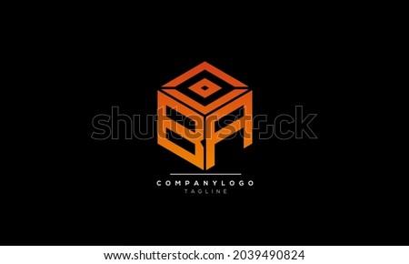 Alphabet letters Initials Monogram logo BA, BA INITIAL, BA letter Zdjęcia stock ©