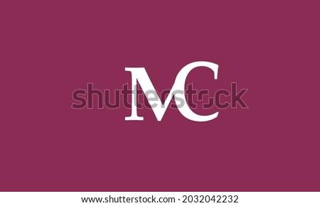 Alphabet letters Initials Monogram logo MC, CM, M and C Zdjęcia stock ©