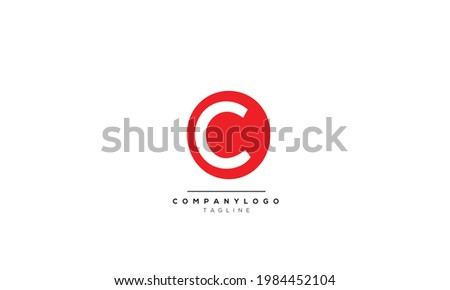 Alphabet letters Initials Monogram logo OC, OC INITIAL, OC letter Photo stock ©