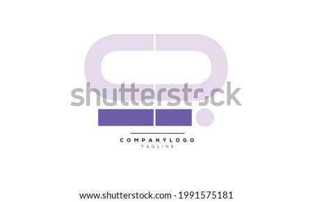 Alphabet letters Initials Monogram logo OI, OI INITIAL, OI letter Foto stock ©