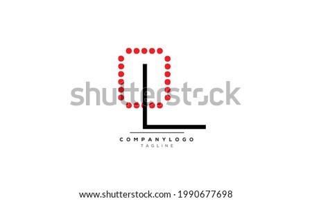 Alphabet letters Initials Monogram logo OL, OL INITIAL, OL letter Foto stock ©