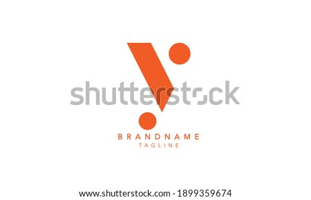 Alphabet letters Initials Monogram logo Y,Y INITIAL, Y letter  Foto stock ©