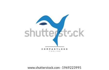 Alphabet letters Initials Monogram logo Y, Y INITIAL, Y letter Foto stock ©