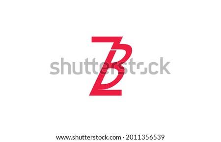 Alphabet letters Initials Monogram logo ZB, BZ, Z and B Zdjęcia stock ©
