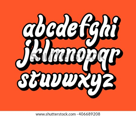 alphabet letters lettering
