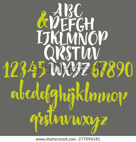 alphabet letters  lowercase