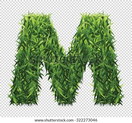 stock-vector-alphabet-m-of-green-grass-a-lawn-alphabet-with-gradient-light-green-to-dark-green