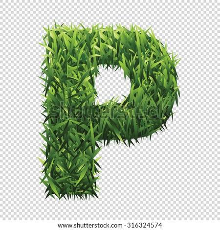 stock-vector-alphabet-p-of-green-grass-a-lawn-alphabet-with-gradient-light-green-to-dark-green
