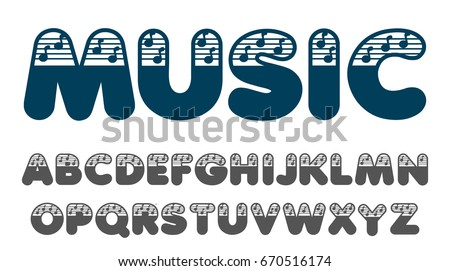 stenciled laser cut type font vector download free vector art