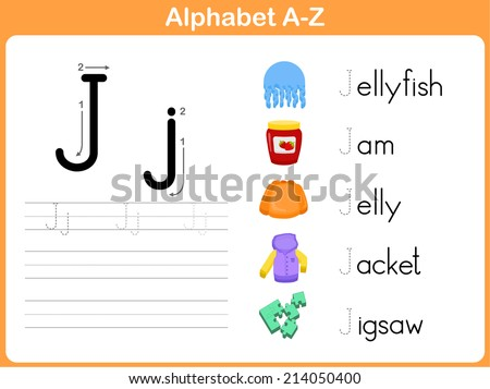 Alphabet Tracing Worksheet Writing A-Z
