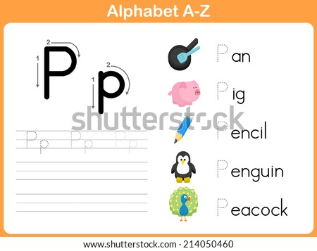 Number Names Worksheets : tracing alphabet worksheets a to z ...