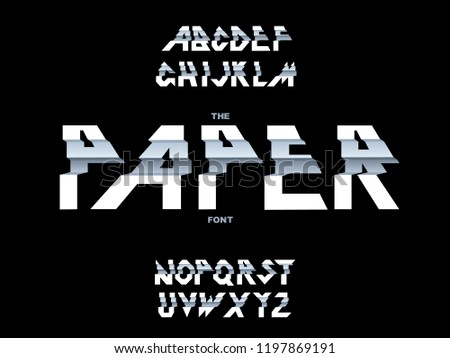 Folded Font Free Vector Art - (115 Free Downloads)