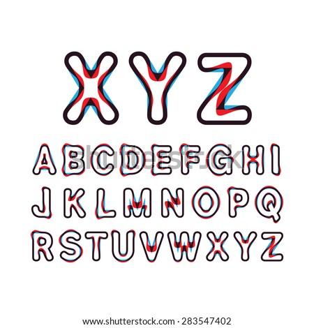 alphabetic fontscapital letter