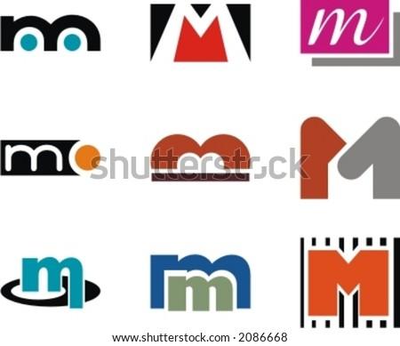 letter m logo. Letter M. Check my portfolio