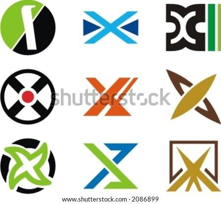 Alphabetical Logo Design X Logo Design