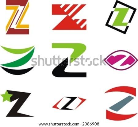 z 3d logo design  Alphabetical Logo Design Concepts.