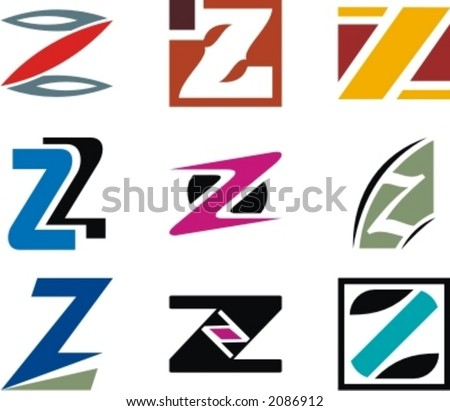 Alphabetical Logo Design  Z Logo Design