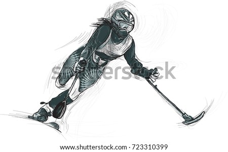 alpine skiing from the series