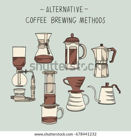 alternative coffee brewing...