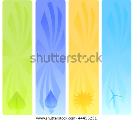 Alternative Energy Vector Panels