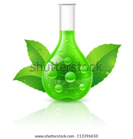 Alternative Medicine Concept. Illustration on white background