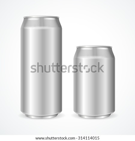 aluminum cans empty 500 and 330