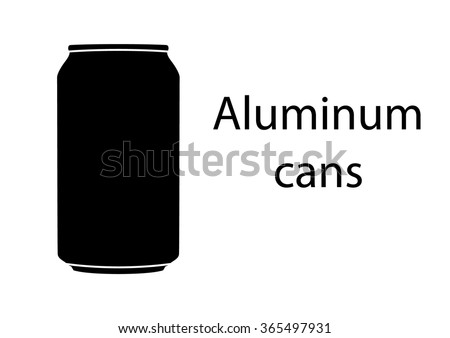 aluminum cans sign
