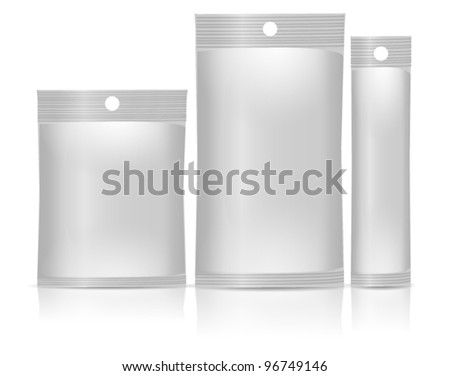 aluminum foil snack bag package