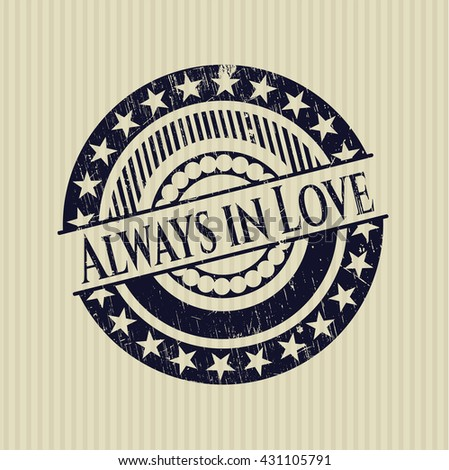 Always in Love rubber seal