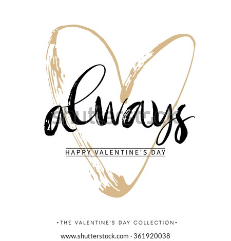always valentines day greeting