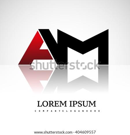 am company linked letter logo
