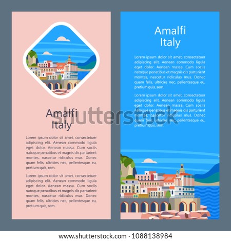 amalfi coast  italy seaside