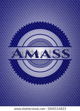 Amass jean background. Vector Illustration. Detailed.  Photo stock ©