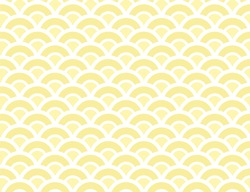Amazing Block Yellow Summer Pattern